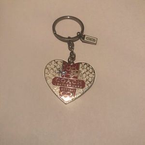 Coach keychain Nwot bought on eBay